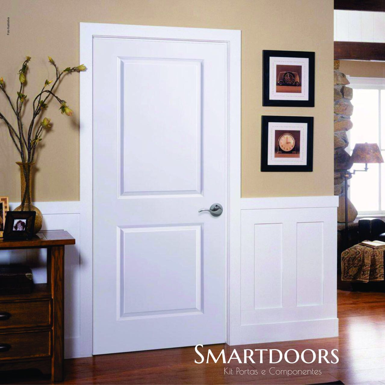 Cinco vantagens da porta laqueada